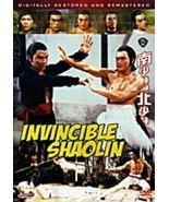 Invincible Shaolin - Hong Kong RARE Kung Fu Martial Arts Action movie - NEW - $10.39