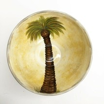 """Tabletops Unlimited Bellagio Palm Serving Bowl Pedestal Footed Tree 7"""" Diameter  - $49.49"""