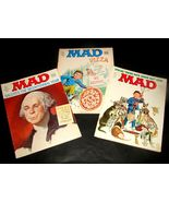 3 MAD Magazines 181 183 184 Mar June July 1976 VG Bicentennial Arbor Day... - $19.99