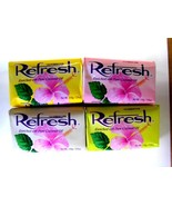 Refresh Soap Enriched with Pure Coconut Oil 110g ea (Pack of 4) - $13.50