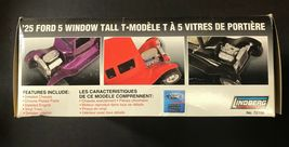 Lindberg '25 Ford 5 Window Tall T 1/24 Model Kit 72196 NEW IN BOX image 3