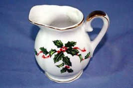 Lefton Boughs of Holly Creamer - $4.15