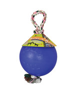 Jolly Pets Blue Romp-n-roll Ball Dog Toy 8 In 788169060829 - $31.78