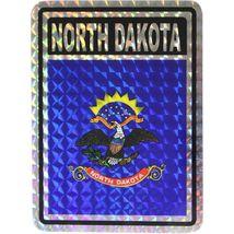 State of North Dakota Flag Reflective Decal Bumper Sticker - $16.00