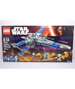 Lego Star Wars 7 Force Awakens 75149 Resistance X-Wing Fighter New in Se... - $148.45