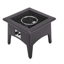 Vivacity Outdoor Patio Fire Pit Table Espresso EEI-2990-EXP - $371.25