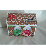 M&M's Gingerbread Tin Canister Cannister Recipe Box - $6.99