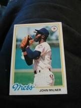 1978 Topps 304 John Milner Baseball Card - $1.78