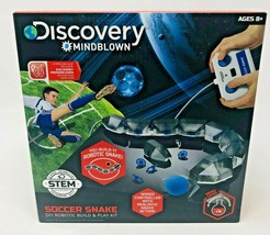 Discovery Kids Mindblown DIY Robotic Build and Play Kit Soccer Snake Age... - $26.69