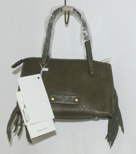 Simply Noelle HB209G Hunter Green Mommy Me Collection Childs Fringe Small Purse
