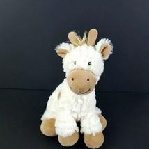 """First Impressions Baby Plush Giraffe Cream Tan 10"""" Fluffy Soft Toy Stuffed  - $20.78"""