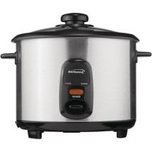 Brentwood Stainless Steel 10-cup Rice Cooker BTWTS20 - $42.19