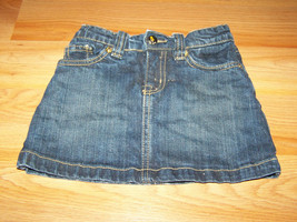 Girl's Size 4 The Children's Place Denim Blue Jean Mini Skirt Skort Spar... - $14.00