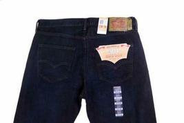 NEW LEVI'S STRAUSS 501 MEN'S ORIGINAL STRAIGHT LEG LODGE POLE JEAN PANT 501-1854 image 6