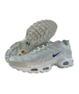 Nike Air Max Plus TN Size 10 Special Edition Trainers Sail Racer Blue Wh... - $158.35