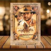 Metal Vintage Indiana Jones 80s Movie Bar Pub Shed Garage Man Cave SIGN  - $5.69