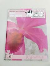 POP Orchids Easy Play Speed Music 61 Music Book Organ,Piano,Guitar - $12.73