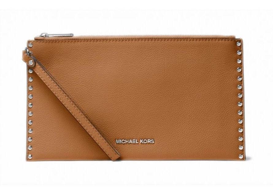 d1d1d23dd71d Michael Kors Astor Studded Large Leather Zip and 50 similar items