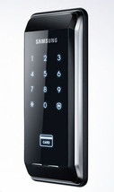 Samsung EZON SHS-2920 Slim Touchpad Electronic Door Lock Home Security System  image 2