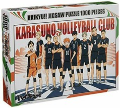 1000 piece jigsaw puzzle Haikyu! Karasuno high school Haikyu part (50x75cm) - $52.66