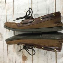 Condition SPERRY 1 Brown Shoes 2 Top Sider Slip Sz Good Used 8 M On r4n8ArPq