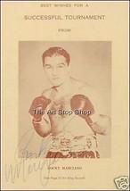 Rocky Marciano autograph photo print - $3.85