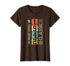 Uncle Shirts -   Retro Classic Vintage June 1942 76th Birthday Gift 76 years Wow image 5
