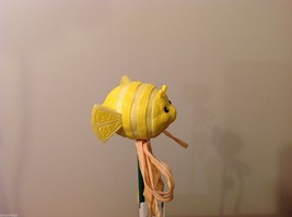 Home Grown Plant Pot Stick Lemon Puffer Fish  Play w your Food Sculpted image 2