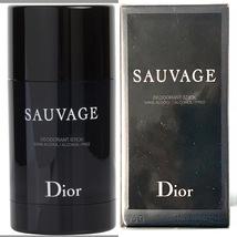Sauvage by Dior for Men 2.6 oz / 75 g Alcohol Free Deodorant Stick - $29.00