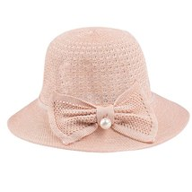 Sun Hats For Women Casual Sunscreen Solid Wide Breathable Brimmed Floppy Foldabl image 3