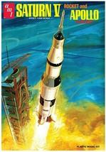 AMT Apollo Saturn-V Rocket 1/200 Scale Plastic Model Kit 1174/12 - $41.58