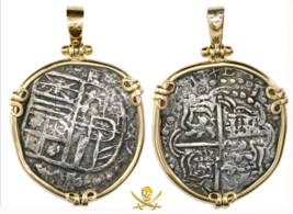 ATOCHA SHIPWRECK BOLIVA 4 REALES GRADE 2 FISHER DATABASE PENDANT JEWELRY... - $2,850.00