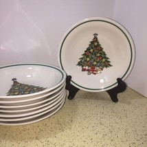 LYNN'S CHINA HOLY TREE PATTERN SET OF 4 CEREAL,... - $8.00