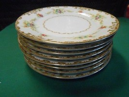 Outstanding Occupied Japan ALADDIN Fine China REGAL Set of 7 BREAD Plate... - $37.21