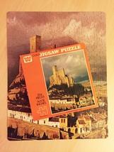 """Vintage 50s Whitman Guild Jigsaw Puzzle- #B4225 """"Almansa Castle"""""""