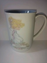 Vintage 1990 Precious Moments coffee mug for aunt lavender - collectible - cup - $22.76