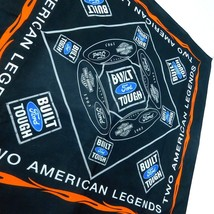 "Ford Harley Davidson American Legends Bandana Built Tough 21"" x 21"" Motorcycle - $24.99"