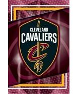 "CLEVELAND CAVALIERS LOGO NBA POSTER 22"" X 34"" BRAND NEW - $15.10"