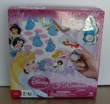 Disney Princess I Remember Game New in Box! Age 3+ 2-4 Players 20 Prince... - $9.89