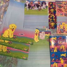 Lisa Frank Stickers Stationery Lot Princess Pearls Puppies Sandcastles Dalmatian image 4