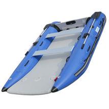 BRIS 11 ft Inflatable Catamaran Inflatable Boat Dinghy Mini Cat Boat Blue  image 9