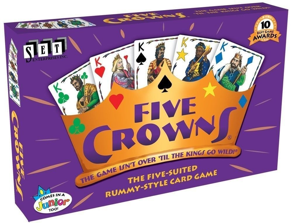 Five Crowns Card Game [New] 5 Crowns Board Game