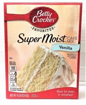 Betty Crocker Super Moist Vanilla Cake Mix 15.25 oz - $4.00