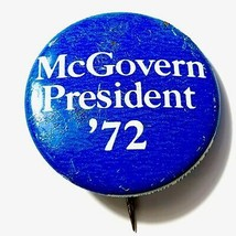 1972 McGovern Presidential Campaign Pin - US SELLER - $16.44