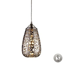 Elk Lighting 20064/1-LA Pendant Light, Chrome - $270.00