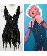 Renee Zellweger Roxie Hart Cosplay Costume Black Dance Dress - $129.00