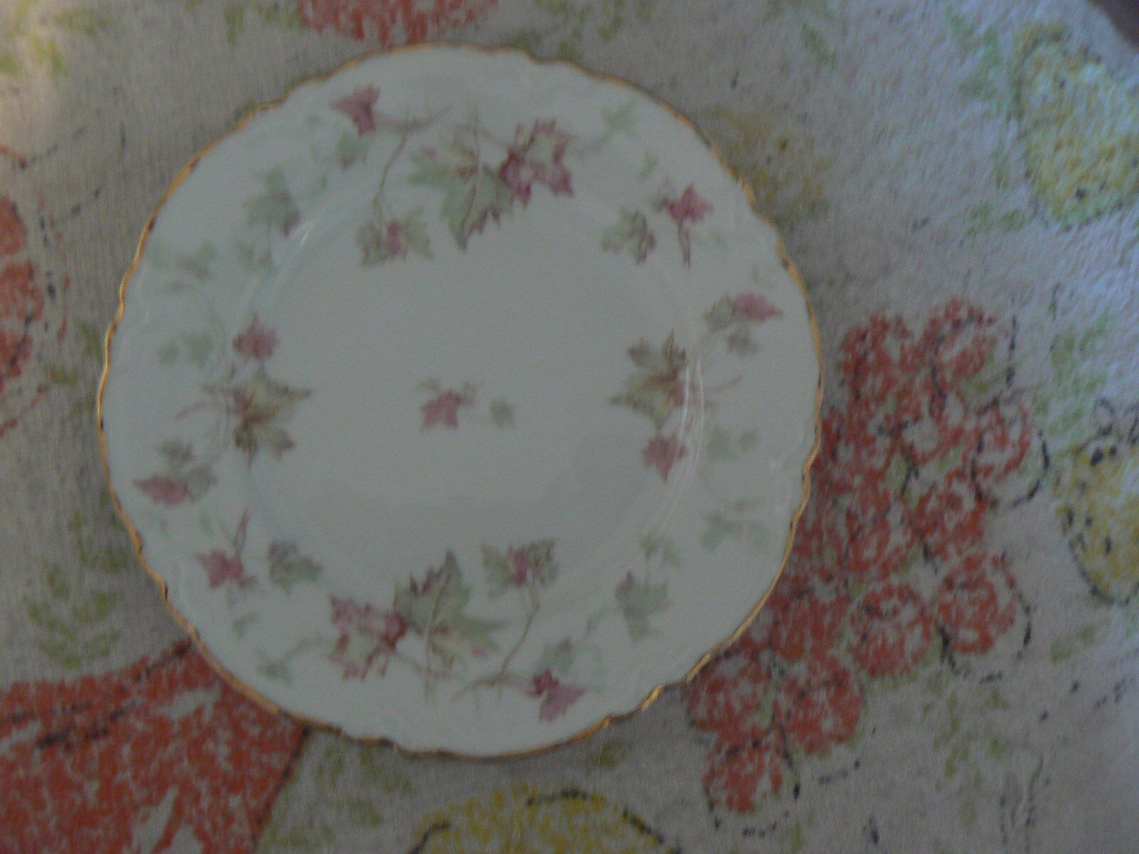 Hutschenreuther bread plate (Maple Leaf) 11 available - $3.22