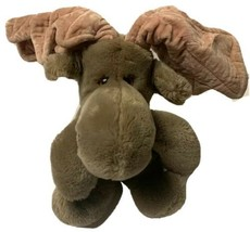 "Heritage Collection Ganzbros Plush Moose 8"" Vintage 1985 Stuffed Animal - $15.29"
