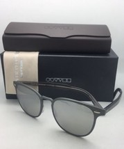 Oliver Peoples Sunglasses Sheldrake Metal 1179-S 52286G Brushed Gunmetal +Mirror - $219.98