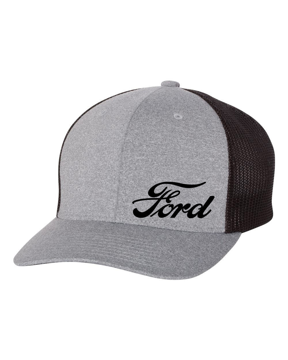 Primary image for FORD F150 F250 MUSTANG SUPER DUTY Trucker Cap FLEXFIT HAT *FREE SHIPPING in BOX*